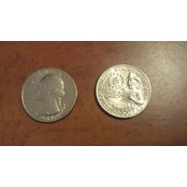 Quarter Dollar Cuarto De Dólar 1776 - 1976 Conmemorativo