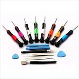 Kit Desarmadores Reparación Celulares Iphone Samsung 16 Pzs