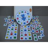 Loteria De Figuras Geometricas -material Didáctico-
