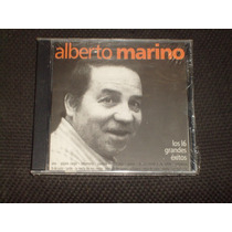 Cd Alberto Marino Los 16 Grandes Exitos Año 2004 Pajaro Cieg