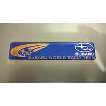 Emblema Subaru World Rally Team Impreza Legacy Wrx Sti