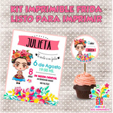 Kit Imprimible Frida Candy Bar Listo Para Imprimir