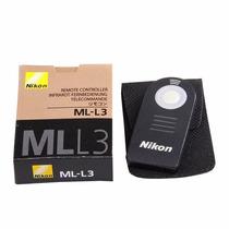 Controle Remoto Nikon Ml L3 Para D3200 D5100 D5200 Original