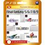 Final Fantasy 5 6 7 8 9 (código Ps3) - Envio Rápido!!