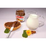 Nutella 5 Potes De 650g (3,25kg) Creme De Avelã Mais Brinde!