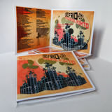 Caja De Cartón + Cd Copiado E Impreso Full Color + Embolsado