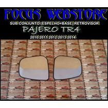Sub Conjunto Retrovisor Pajero Tr4 2010 2011 2012 2013 2014