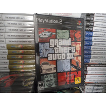 Grand Theft Auto 3 Gta Iii - Original - Lacrado - Ps2