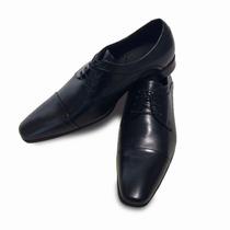 Sapato Social Clássico Masculino Cns Oxford Couro Legítimo