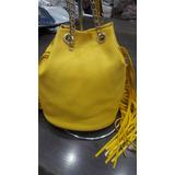 Bolsa Importada Tranversal Lateral Haute Amarela !!