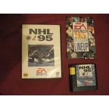 Nhl 95, Sega, Hockey, Original ( Buen Juego)