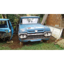 Ford F 100, Pick - Up, Gabina Antiga