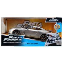Brian´s Nissan Gt-r R35 Rapido Y Furioso 1:24 Jada