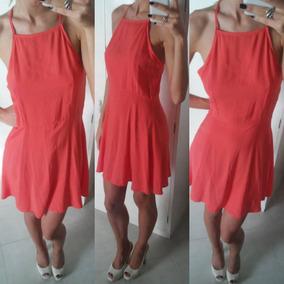 Vestido H&m Color Salmón