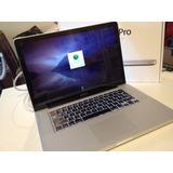 Macbook Pro 15 Quad Core I7 2.0 Ghz 8g Disco 500g 2011