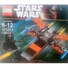 Lego Nave Star Wars 62 - 88 Piezas Con Personaje - Tienda!!