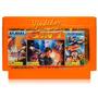 Cassette De Nintendo Asiatico 3 Divertidos Videojuegos En 1