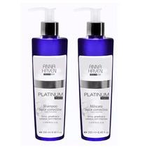 Anna Haven Platinum Touch Shampoo + Máscara - Oferta!!