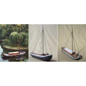 Barco Pesquero De Vela Holandés Mariathere (armar N Papel)