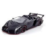 2014 Lamborghini Veneno Roadster Black 1/18 Kyosho
