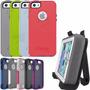 Funda Otter Box Defender Iphone Se 5 5s Clip + Holder + Film