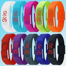 Relógio Pulseira Bracelete Digital Led - Barato