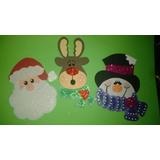 Decoracion De Navidad En Foami Y Mas