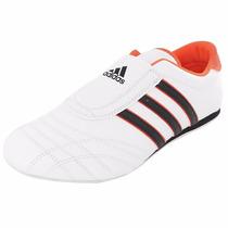 Tenis Adidas Men Taekwondo Style Leisure White Black Orange