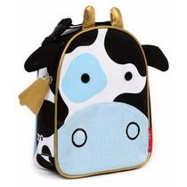 Mochila Luch Niños Diseño Vaca Practico Tamaño Skip Hop