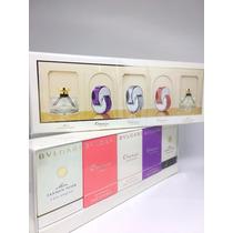 Perfume Bvlgari Miniaturas Collection Femme 5und. Original