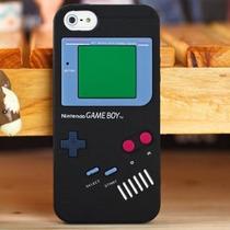 Funda De Silicona Iphone 6, 6s Game Boy Negro - Gameboy