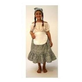 Disfraz De Paisana - Disfraces para Niñas en Belgrano R