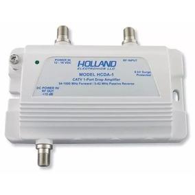 Amplificador Señal Tv X Cable Tda Holland Hd 1 Ghz Satshoptv