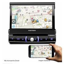 Dvd Automotivo 7 Pol Touch Retrátil Gps Esp. Sp6920nav