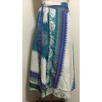Saia/vestido Dupla Estilo Indiano
