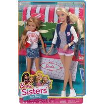 Brinquedo Boneca Irmãs Barbie E Stacie Mattel Cgf35