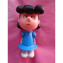 Figura Nina Pelo Negro Y Vestido Azul D Snoopy De Mc Donalds
