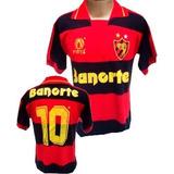 Camisa Vintage Retrô Sport Recife 1991 Banorte Blusa Leão