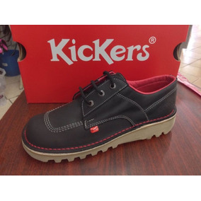 Zapatos Kickers De Vestir 100% Cuero Suela De Tractor Comodo