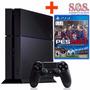 Playstation 4 Ps4 500gb Pes 2017 Mar Del Plata