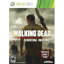 The Walking Dead Survival Instinct Mídiafísica Novo Xbox 360