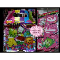 Shopkins Fiesta Dulcero Invi Fig Fomi Decora Arma Tu Pack