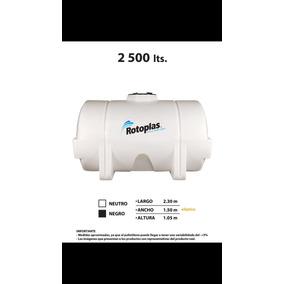 Tanque Horizontal Nodriza 2500 Litros Rotoplas