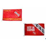 Bandera De Independiente 151x90 Cm Licencia Oficial Lelab