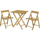 Conjunto Mesa + 2 Cadeiras Aconchego Tramontina 10630025