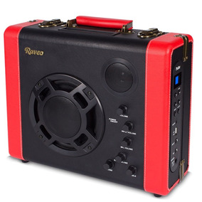 Caixa Amplificada Raveo Pulse Bivolt Bluetooth 30w Com Entra