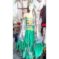 Roupa Cigana Verde