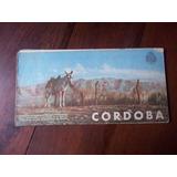 Cordoba Antiguo Mapa Guia Turistica Enero 1949 En La Plata