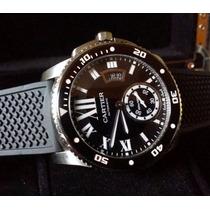 Relógio Eta Modelo Cartier Calibre De Cartier Diver - 42mm