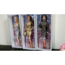 Barbie Collector Lote De 3 The Look City Shine